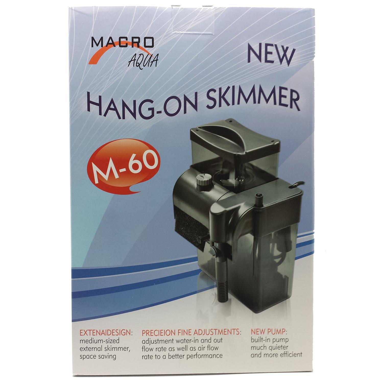 Macro Aqua M-60 Hang-on Protein Skimmer, 120gal Gallery