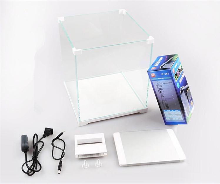 SunSun ATK-250D 4gal Nano Fish Tank w/ 6W LED Light & Internal Filter Gallery