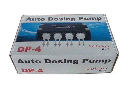 Jebao DP-4 Programmable Auto Dosing Pump, 4 Channel Gallery