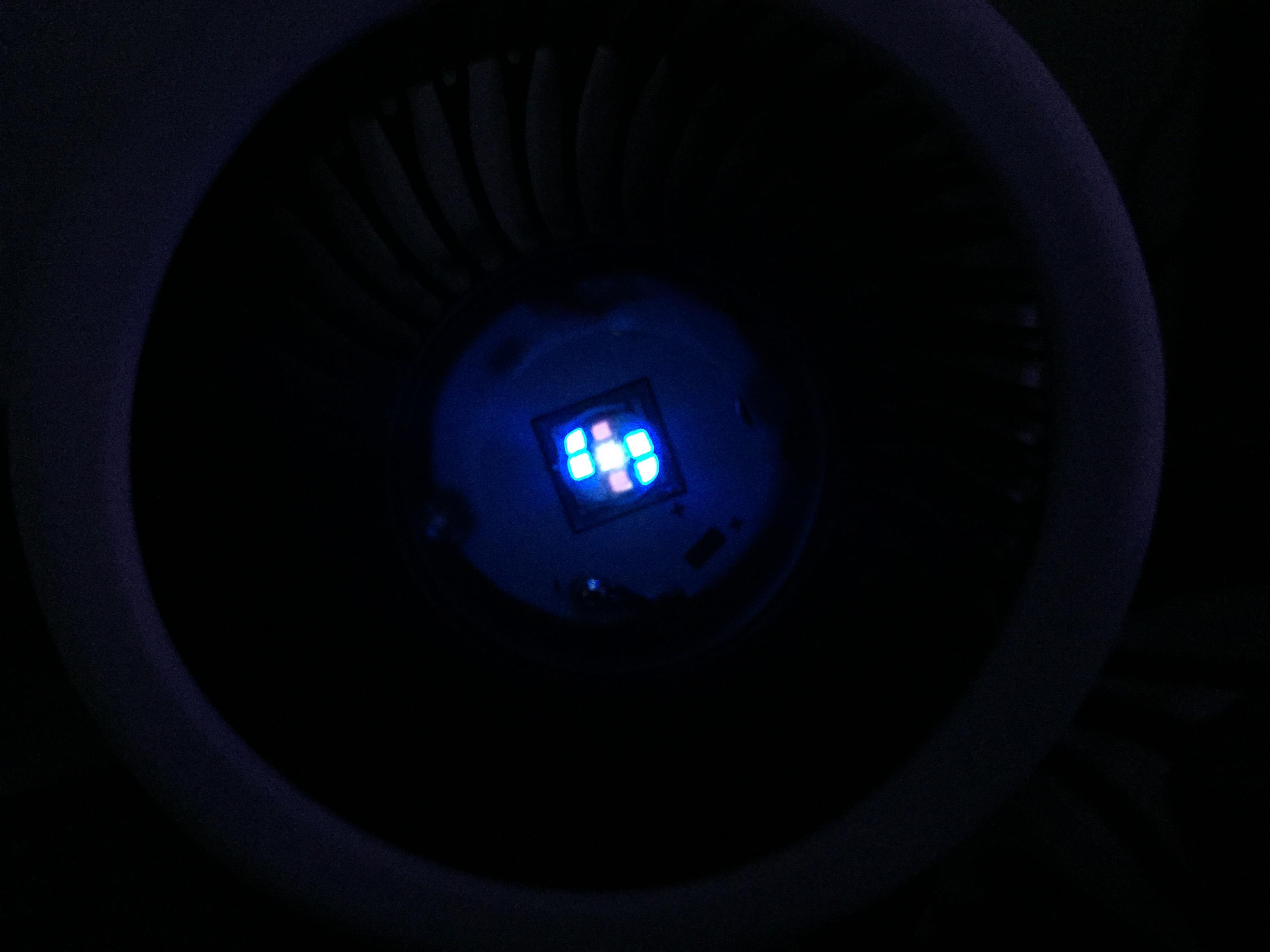 Zetlight E100-B 13W LED Light [All Blue] Gallery