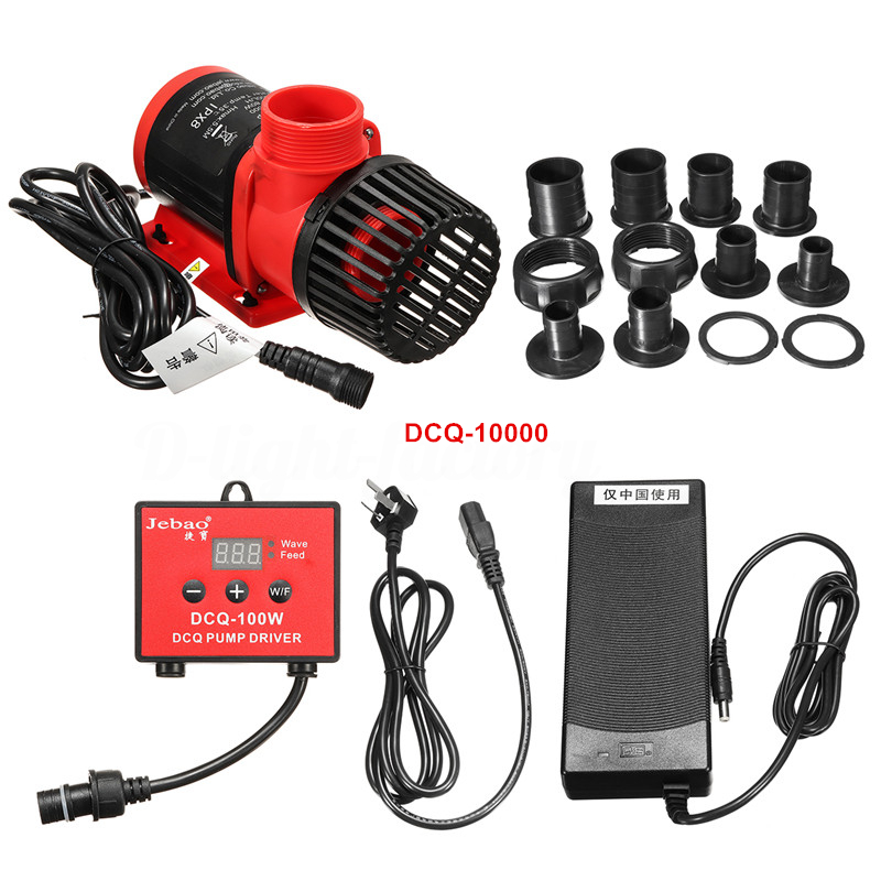 Jebao DCQ-10000 80W Submersible Pump w/ Controller, 2641gph Gallery