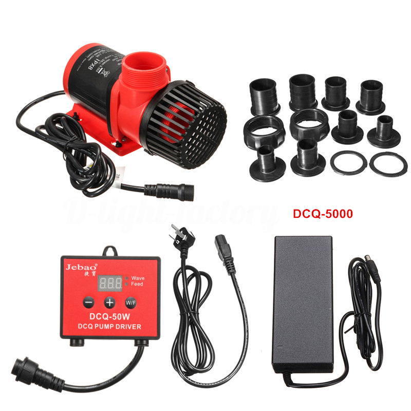 Jebao DCQ-5000 40W Submersible Pump w/ Controller, 1320gph Gallery