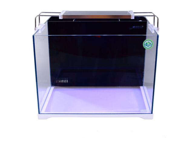 SunSun ATH-500 18.5gal Marine Tank w/ 24W LED, Pump, Ceramic Rings, & Sand Substrate Gallery