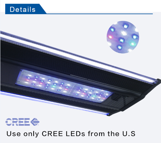 Zetlight ZT-6800II 210W LED Reef Aquarium Light Gallery