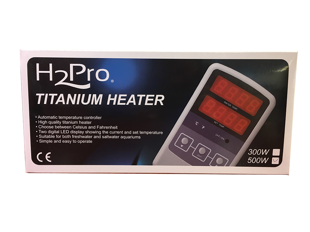H2Pro TH-300 (300W) Titanium Heater w/ Controller Gallery